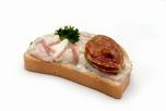 H�s sal�t�s szendvics