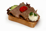 Sült hátszínes szendvics