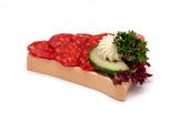 Kolbászos szendvics