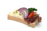 Tojás péstétomos szendvics
